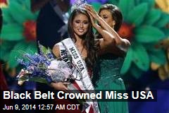 Black Belt Crowned Miss USA