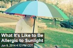 Mother, Son Allergic to Sunlight