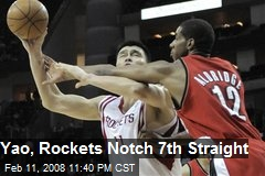 Yao, Rockets Notch 7th Straight