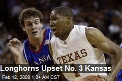 Longhorns Upset No. 3 Kansas