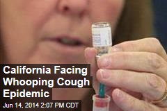 California Facing Whooping Cough Epidemic