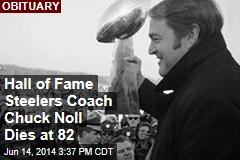 Hall of Fame Steelers Coach Chuck Noll Dies at 82