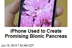 iPhone Used to Create Promising Bionic Pancreas