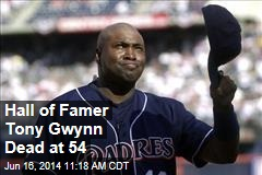 Hall of Famer Tony Gwynn Dead at 54