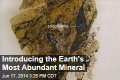 Introducing the Earth's Most Abundant Mineral