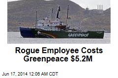 Rogue Employee Costs Greenpeace $5.2M