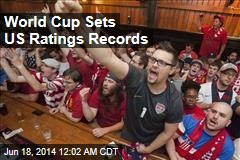 World Cup Sets US Ratings Records