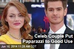 Celeb Couple Put Paparazzi to Good Use