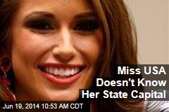 Miss USA Doesn't Know Her State Capital