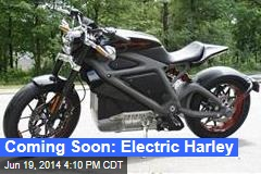 Coming Soon: Electric Harley