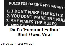 Dad's 'Feminist Father' Shirt Goes Viral
