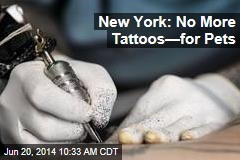 New York: No More Tattoos—for Pets