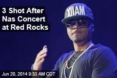 3 Shot After Nas Concert at Red Rocks