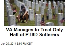 VA Manages to Treat Only Half of PTSD Sufferers
