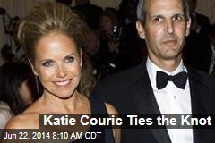Katie Couric Ties the Knot