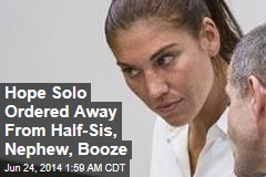 Hope Solo Denies Domestic Assault