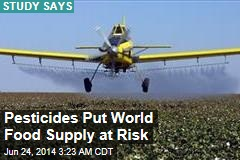 Pesticides Put World Food Supply at Risk