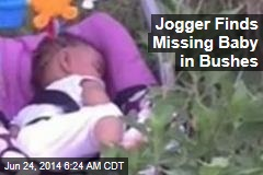 Jogger Finds Baby Missing in Carjacking in Bushes