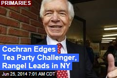 Cochran Edges Tea Party Challenger