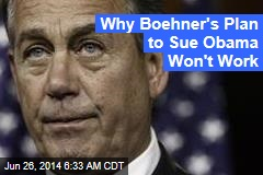Could Boehner Really Sue Obama?