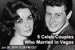 5 Celeb Couples Who Married in Vegas