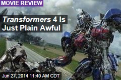 Transformers 4 Is Just Plain Awful