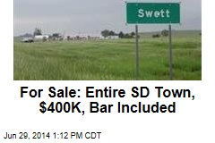 For Sale: Entire SD Town, $400K, Bar Included