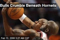 Bulls Crumble Beneath Hornets