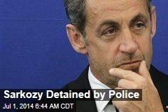 Sarkozy Detained in Corruption Investigation