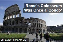 Rome's Colosseum Had a Mundane Past—Sort Of