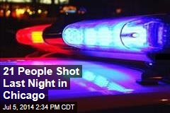 21 People Shot Last Night in Chicago