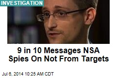 9 in 10 Messages NSA Spies on Aren't From Targets