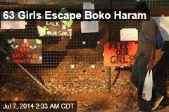 63 Girls Escape Boko Haram