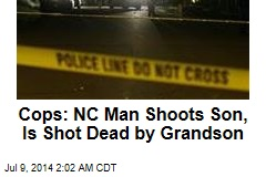Cops: NC Man Shoots Son, Is Shot Dead by Grandson