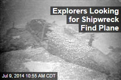 Explorers Looking for Shipwreck Find Plane