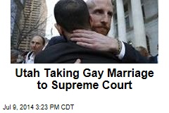 Utah Taking Gay Marriage to Supreme Court