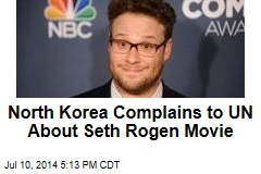 North Korea Complains to UN About Seth Rogen Movie