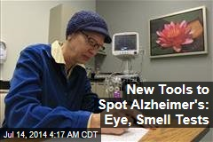 New Tools to Spot Alzheimer's: Eye, Smell Tests