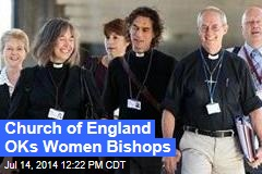Church of England OKs Women Bishops