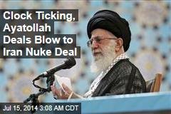 Iran Nuke Deal May Be Doomed