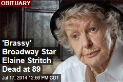 'Brassy' Broadway Star Elaine Stritch Dead at 89