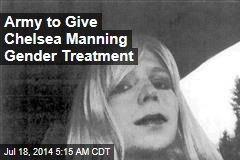 Army to Give Chelsea Manning Gender Treatment