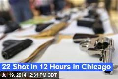 22 Shot in 12 Hours in Chicago
