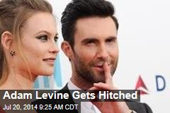 Adam Levine Gets Hitched