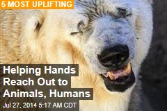 Helping Hands Reach Out to Animals, Humans