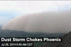 Dust Storm Chokes Phoenix