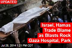 Airstrikes Hit Gaza's Main Hospital: Officials