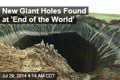 New Giant Holes Found at 'End of the World'