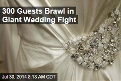 300 Guests Brawl in Giant Wedding Fight