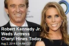 Robert Kennedy Jr. Weds Actress Cheryl Hines Today